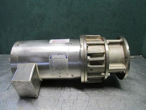 Baldor VSSWDM3546 Washdown Duty Electric Motor w/Nexen 801656 Clutch Brake 1 HP