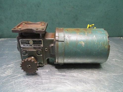 Tigear 7916110CC Electric Gearmotor 1/3 HP 56/150-40 Ratio 170 RPM 3 PH