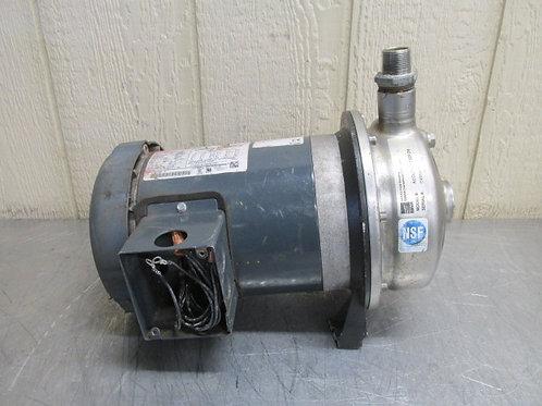 Ebara Model ACDU70/17T3EPDM Stainless Steel Centrifugal Pump 39 GPM 3 PH