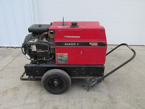 Lincoln Ranger 8 Portable Gas Welder Generator 115/230v 225 Amp 8,000W