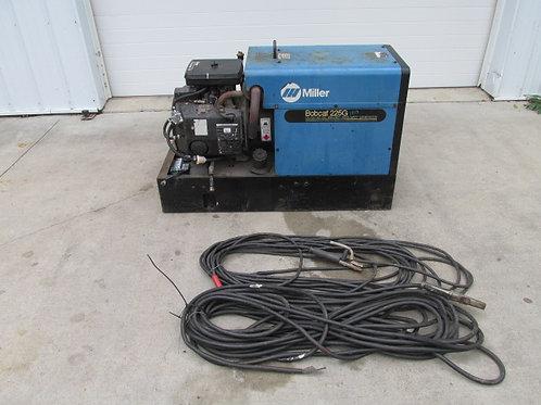Miller Bobcat 225G Plus Portable Gas Welder Generator 120/240v 225 Amp 8,000W