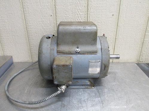 Baldor 37C11-90 Electric Motor 5 HP 115/230 Volt 1725 RPM 1 PH Single Phase