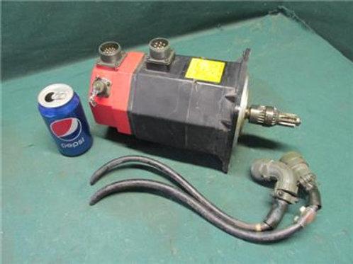 Fanuc A06B-0345-B231 Servo Motor 3,000 RPM 3 Phase Model 5F/3000 117 Volt
