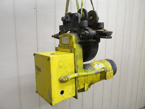 Yale Model T3A50M3 Electric Chain Cable Hoist Power Trolley 3 PH 230/460v