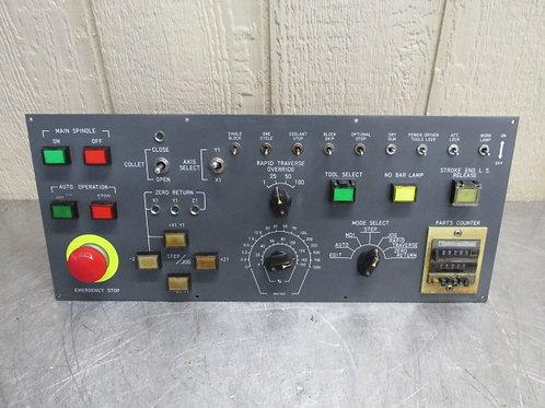 Fanuc A02B-0105-C231 Option Unit Operator Control Keypad Panel Key Pad