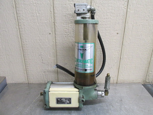 Lincoln Centro-Matic Model 82751 G Series Ram Lubricant Lube Pump 35:2 Ratio