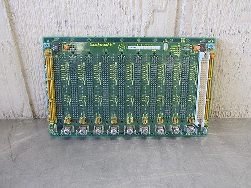 Schroff VME 10-Slot 23030-055 I/O Circuit Contol Board