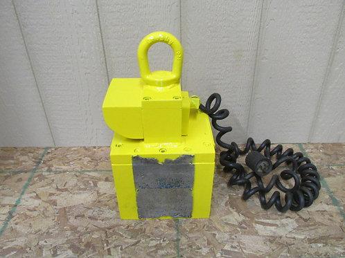 1,500 Lbs Lifting Magnet Crane Hoist Lift Plate Lifter Rigging 115v 1 PH