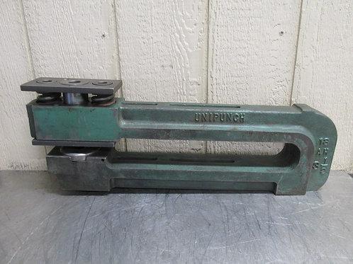 """Unipunch 18 AH 3-1/2 Punch Press C-Frame Die Set Shoe 18"""" Throat 3-1/2"""" Wide"""