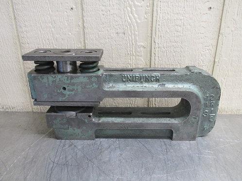 """Unipunch 12 AH 3-1/2 Punch Press C-Frame Die Set Shoe 12"""" Throat 3-1/2"""" Wide"""