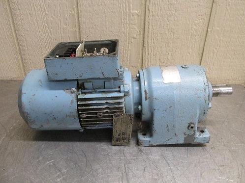 Sew-Usocome R40DT71D4BN05 Electric Brake Motor Gearmotor 1/2 HP 82 RPM 3 PH