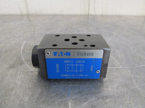 Eaton Vickers DGMDC-3-Y-PK-41 Hydraulic Flow Control Direct Check Valve