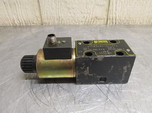 Parker D1VW20BNJDLJ575 Hydraulic Directional Control Solenoid Valve 350 bar