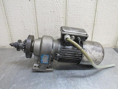 Nord 01-71 S/4-2 BRE5 Gearmotor w/Brake 46/93 RPM 3 PH 36:1 Ratio