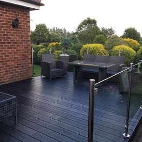 Beautiful Charcoal Deck