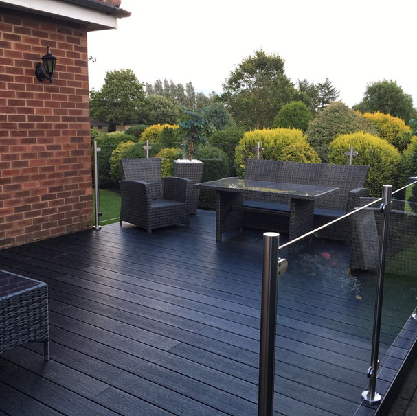 Beautiful Charcoal Deck