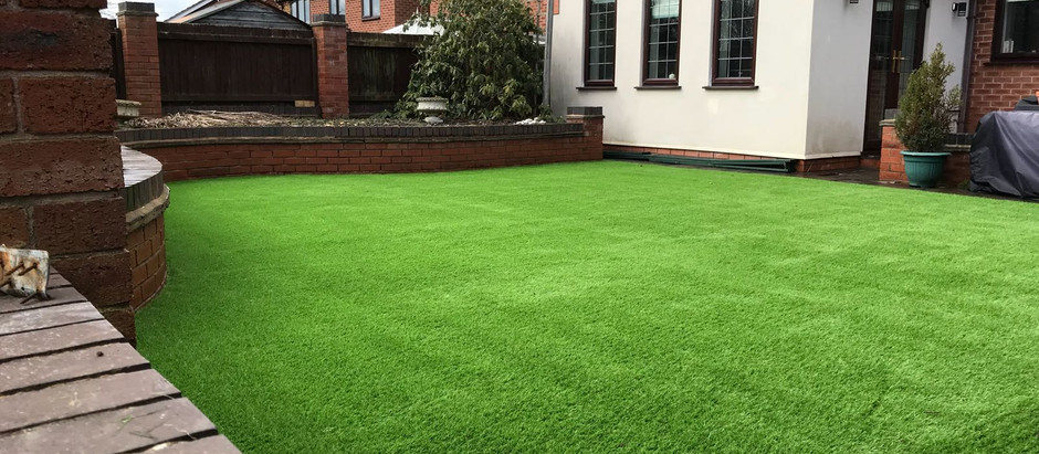 Artificial Grass Installation Crewe
