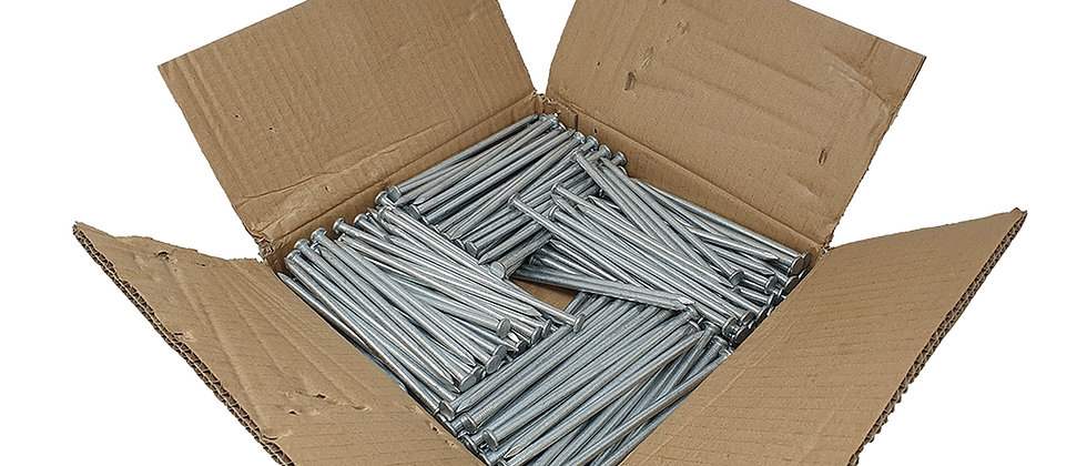 150mm Galvanised Nails - 10kg Pack