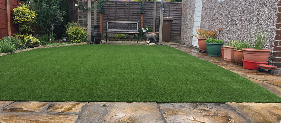Artificial Grass Installation Stafford