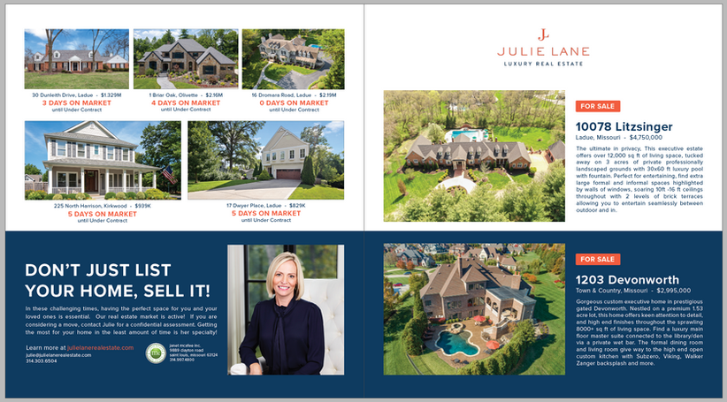 Julie Lane Real Estate in Ladue News