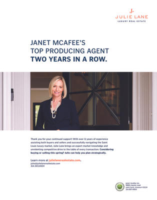 Janet McAfee's Top Producing Agent