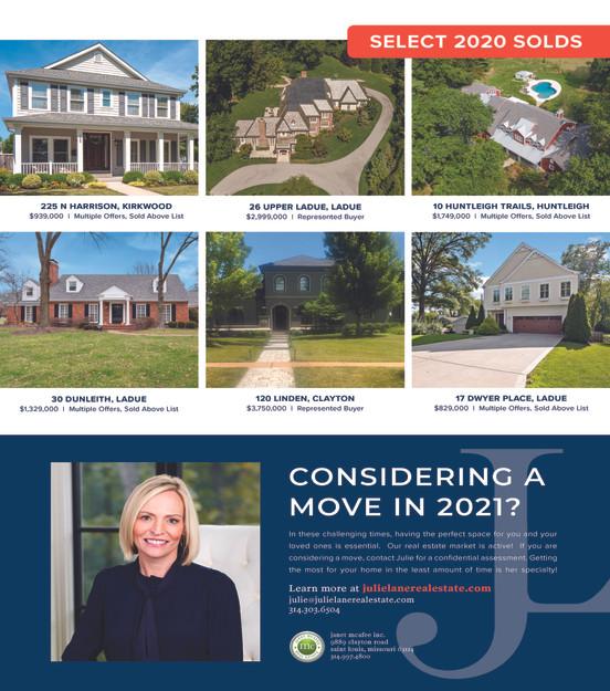 Julie Lane Real Estate in Sophisticated Living