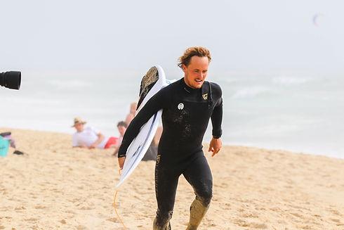 Ugo Robin surf coach Hossegor
