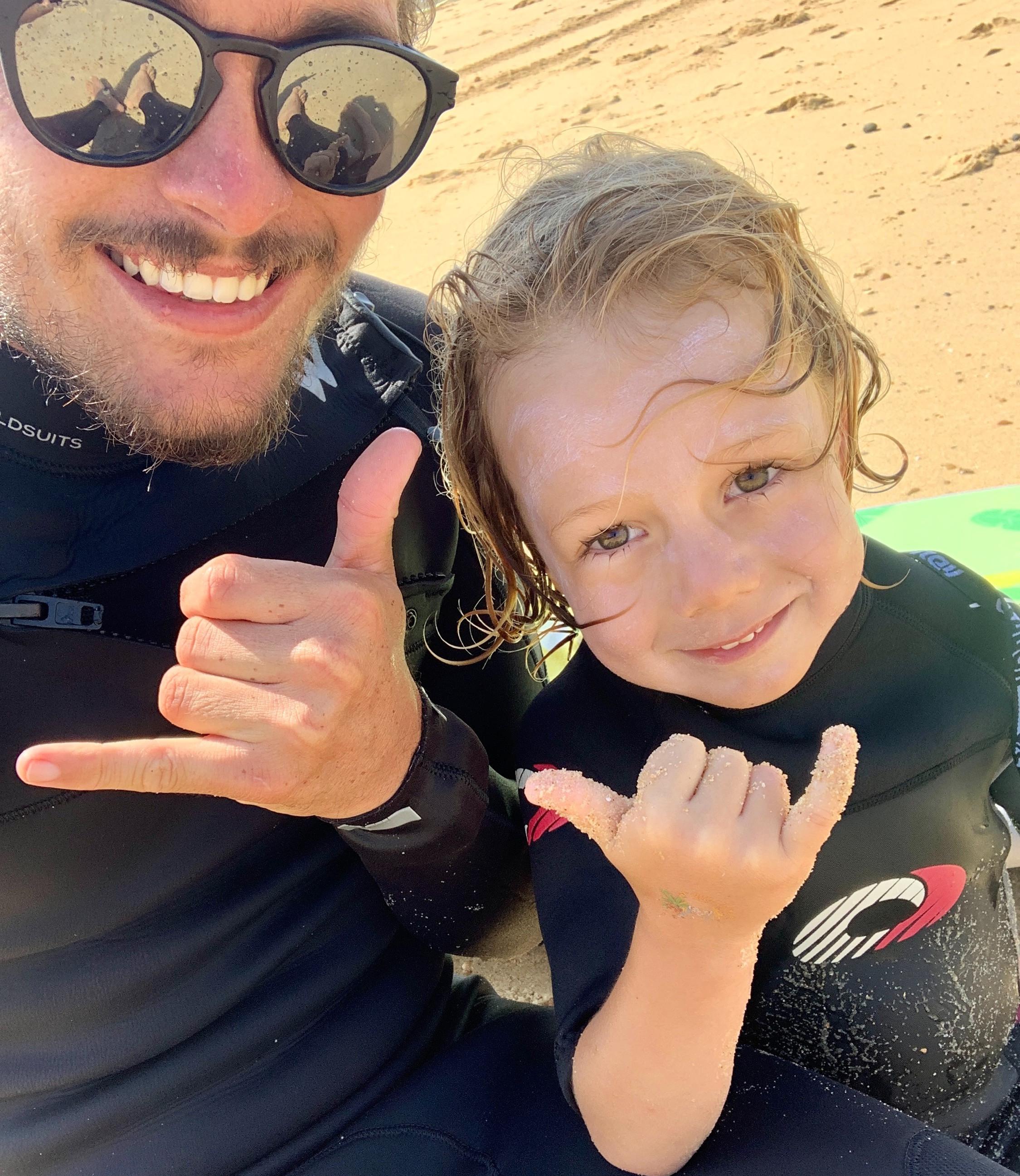 Cours de surf Privé + shooting photo