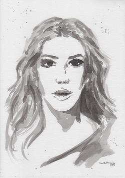 Katheine Ryan in Ink
