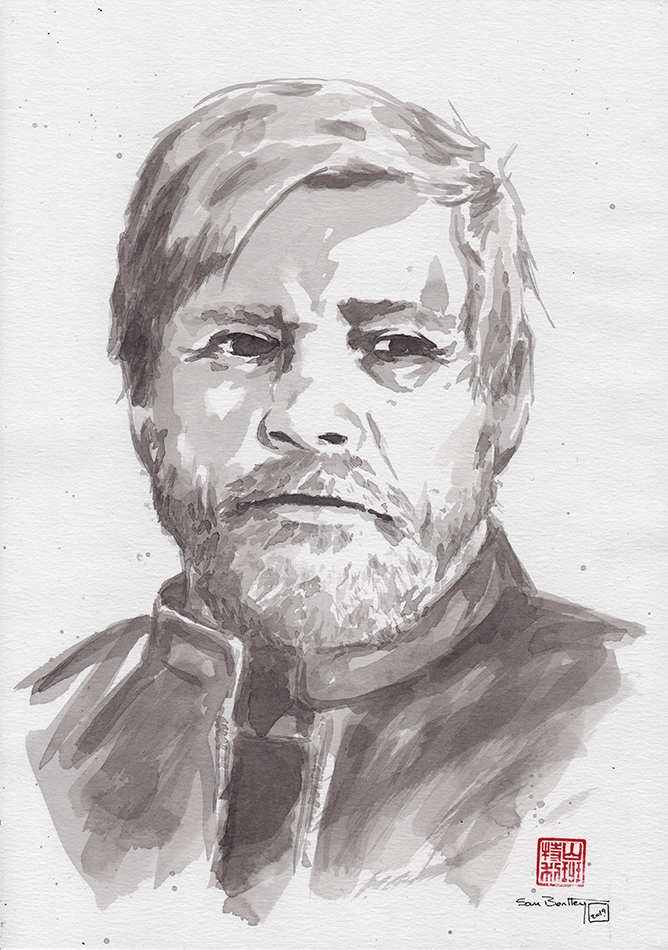 Mark Hamill Sumi-e
