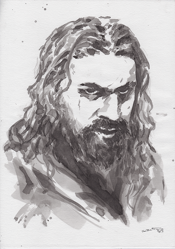 Jason Momoa (as Declan Harp) in Ink