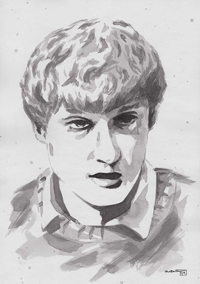James Acaster Sumi-e