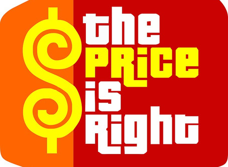 Price is Right Trip-Blog!
