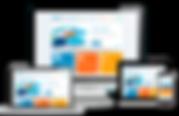 webpage on multiple screen sizes