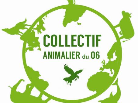 27 Novembre 2018, Inscription pour assister à l'Assemblée Générale du Collectif Animalier du 06