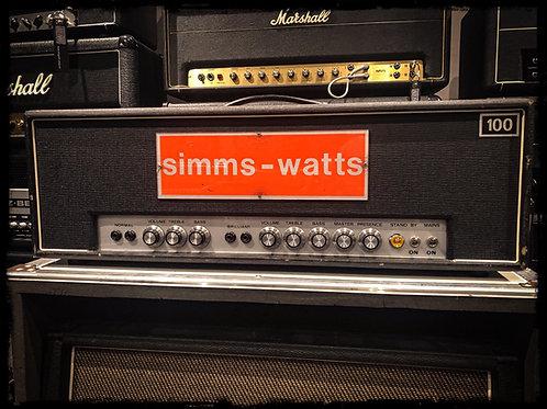 Simms Watt AP100 Early 70's