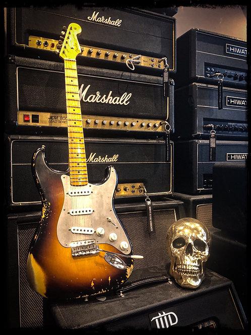 Fender Stratocaster 2016 Ltd custom shop El Diablo