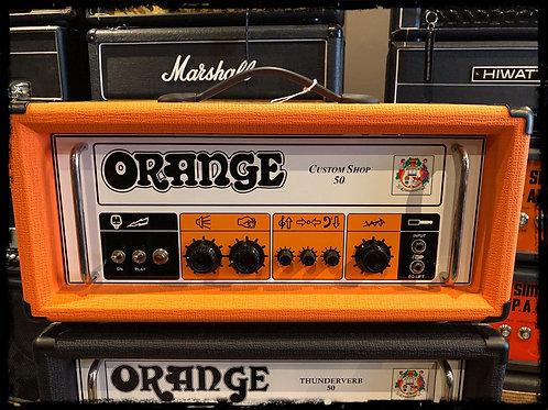 Orange Custom Shop SC50 limited