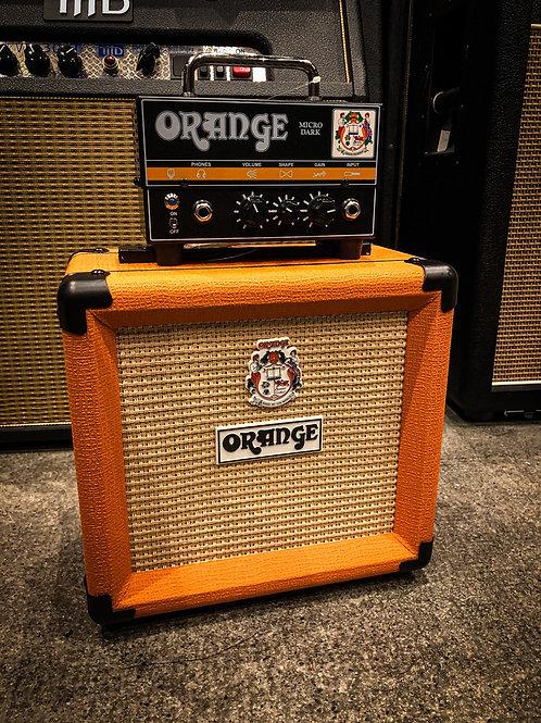 Orange Micro Dark Terror with cabinet