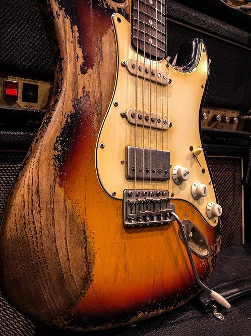 Fraser guitars 60's HSS
