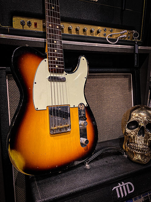 Fender Telecaster ´62 Relic custom shop limited run