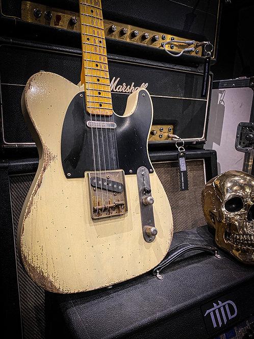 """Kelton Swade Guitars '53 Telecaster Relic """"Vinny"""" AVRT Blonde"""
