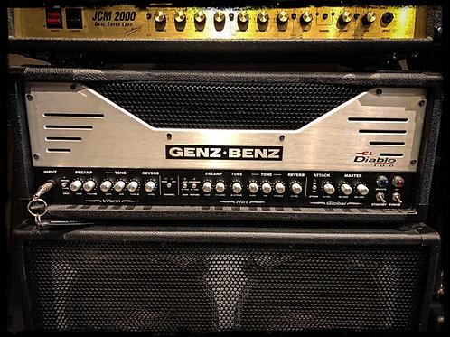 Genz Benz El Diablo 100w head and cabinet