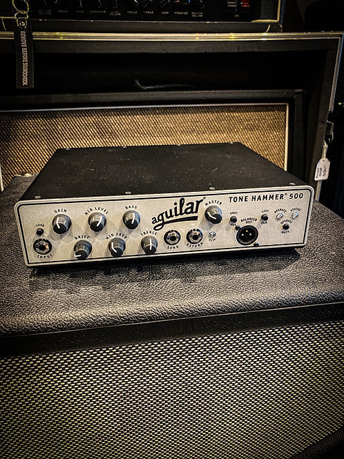 Aguilar Tone hammer 500 and cabinets