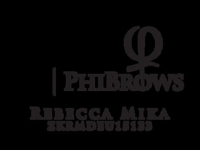 PhiBrows Microblading Artist Rebecca Mik