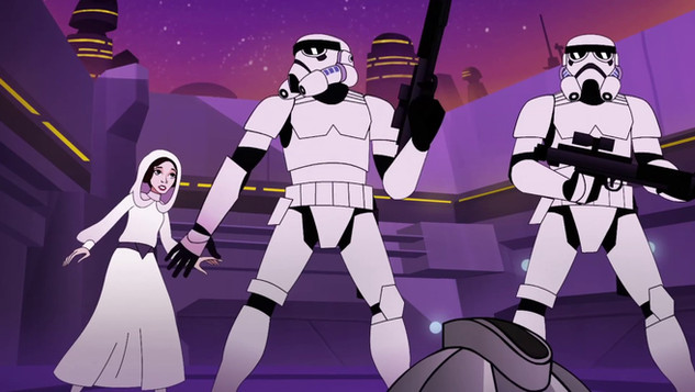 "Star Wars Forces of Destiny: ""Bounty of Trouble"""