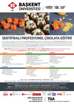 Sertifikalı Profesyonel Çikolata Eğitimi