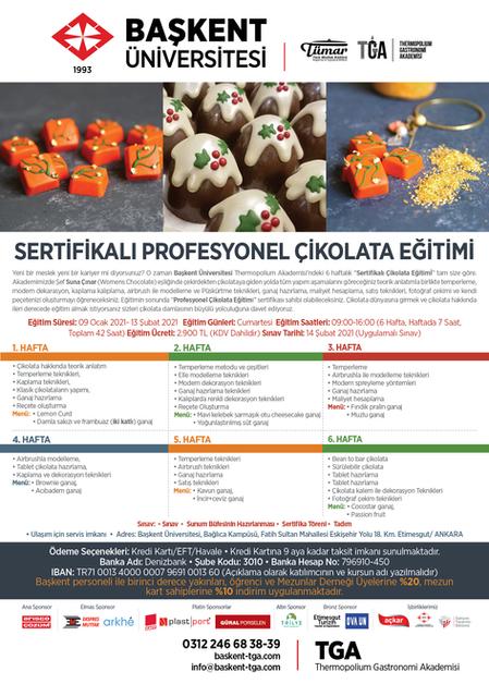 Profesyonel Çikolata Eğitimi