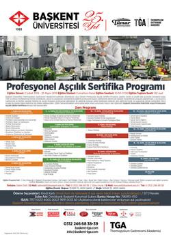 TGA Sertifikalı Aşçılık Eğitimi(Şubat 20