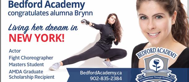 Bedford Academy Billboard